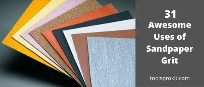 Applications of Sandpaper Grit